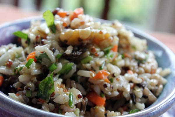 Triple Treat Rice Salad